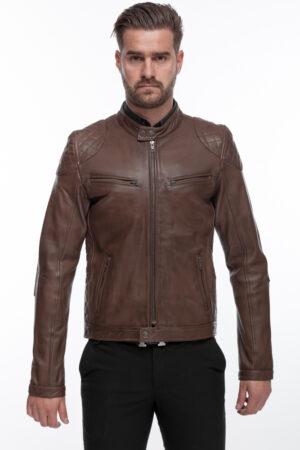 Men's Men's Modern Cool and Stylish Black Leather Jacket