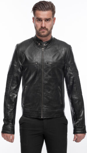 MEN'S STYLISH LEATHER JACKET