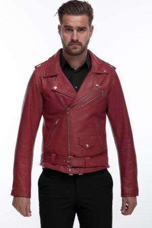 Perfecto Men Red Jacket