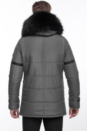 PUFFER JACKET WITH ORIGINAL FUR