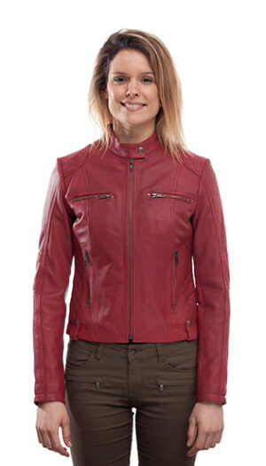 Women's Leather Jacket Stylish Super Soft And Fitted Biker Jacket